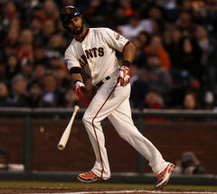 San Francisco Giants' Angel Pagan says he's 'ahead of schedule'