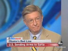 George Will Slams 'Reluctant President' Obama for Syria Hesitation